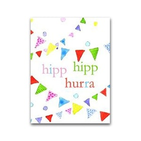 "Nobhilldesigners litet kort ""Hipp Hipp Hurra"""