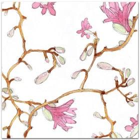 Nobhilldesigners kort med kuvert Magnolia