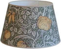 Hallbergs Classic Foliage oval lampskärm grön