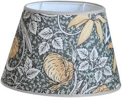 Hallbergs Classic Foliage oval lampskärm gul