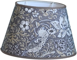 Hallbergs Nutcracker oval lampskärm grå