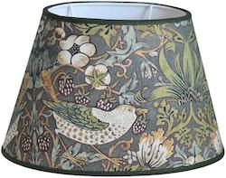 Hallbergs Nutcracker oval lampskärm grön