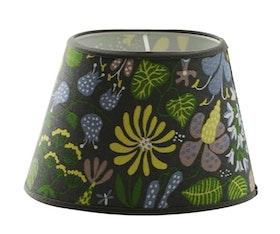 Stig Lindberg Herbarium oval lampskärm grå