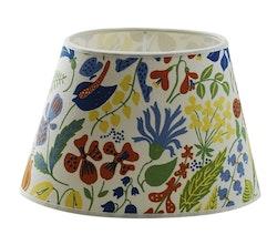 Stig Lindberg Herbarium oval lampskärm vit