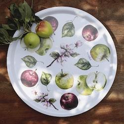 Anna Göran Design rund bricka Äpplen