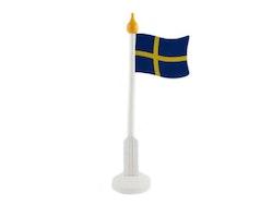 Flaggstång Svenska flaggan stor
