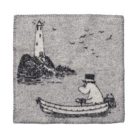 Klippan Yllefabrik sittunderlag Moomin At Sea
