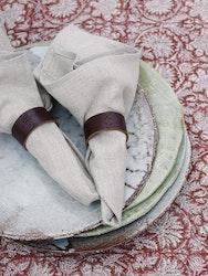 Chamois servetter 2-pack Natural Linen