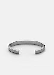 Skultuna Icon Cuff armband matt stål medium