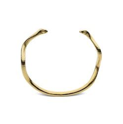 Skultuna Snake Cuff armband guld