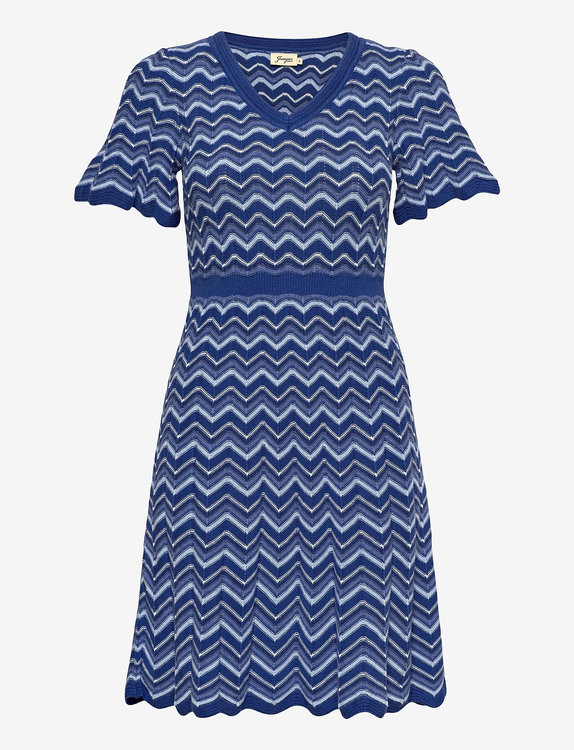 Jumperfabriken Polly dress blue