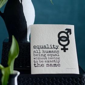 "Erika Tubbin disktrasa ""Equality"""