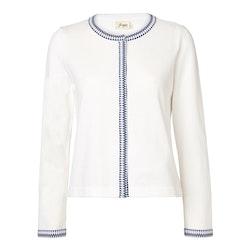 Jumperfabriken Ingalill cardigan white