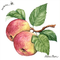Maria Olsson Äpple pappersservett
