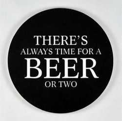 Mellow Design glasunderlägg Beer