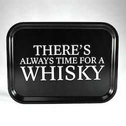 Mellow Design liten bricka Always time for a whisky