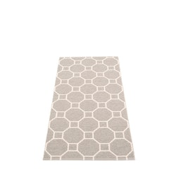 Pappelina matta Rakel Warm grey · Vanilla