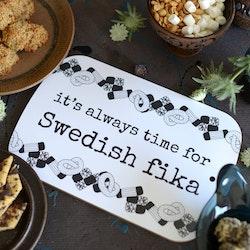 "Erika Tubbin skärbräda ""Swedish fika"""