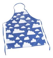 Färg&Form Moln förkläde blå