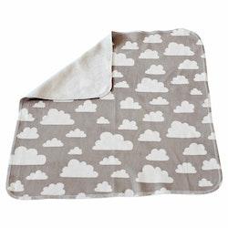 Färg&Form Moln snuttefilt grå