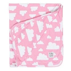 Färg&Form Moln babyfilt rosa