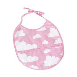 Färg&Form Moln haklapp rosa