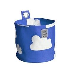 Färg&Form Moln rund förvaring blå