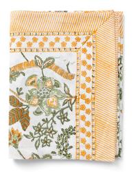 Chamois Floral Print duk Ochre