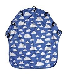Färg&Form Moln barnvagnsdraperi blå