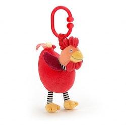 Jellycat Charlie Kyckling barnvagnshänge