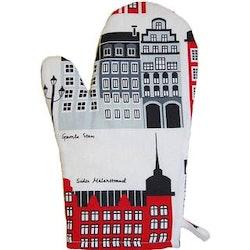Klippan Yllefabrik Mitt Stockholm grillvante röd