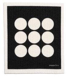Pappelina disktrasa Fia black 2-pack