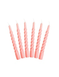 Candles with a Twist pink