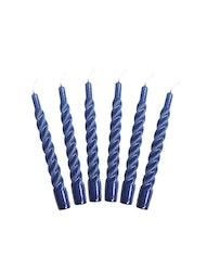 Candles with a Twist dark blue