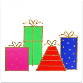 Nobhilldesigners kort med kuvert Julklappar