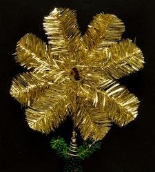 Toppstjärna guldglitter
