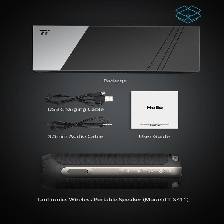 TaoTronics 360 SK11 bluetooth-hogtalare