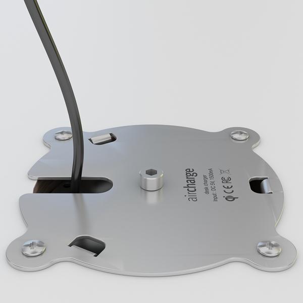 Aircharge trådlös laddare för montering