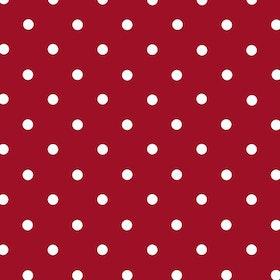 Dekorplast - Prickig Röd