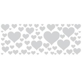 Fönsterfilm - Hjärtan