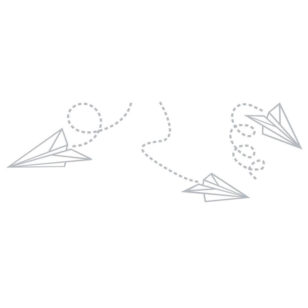 Fönsterfilm - Pappersflygplan