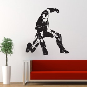 Väggdekor - Iron Man