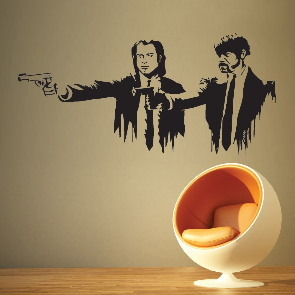 Väggdekor - Pulp Fiction