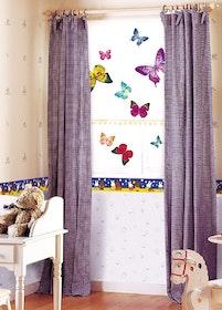 Väggdekor, Färgglada fjärilar