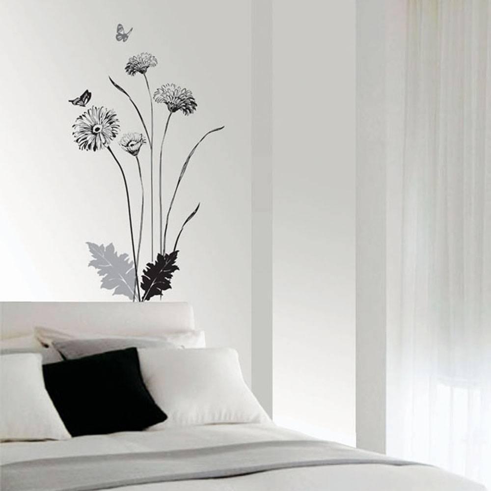 Väggdekor, Krysantemum med fjärilar