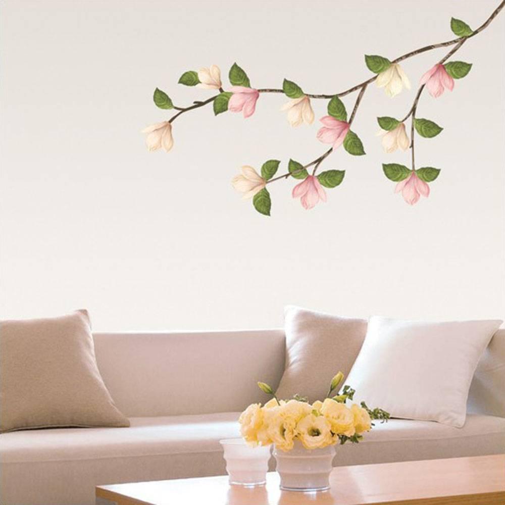 Väggdekor, Magnolia träd