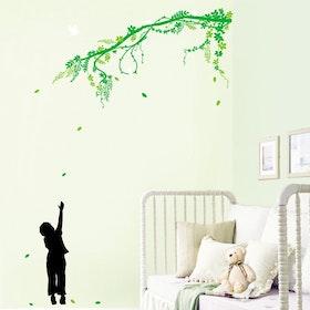 Väggdekor, Träd med pojke