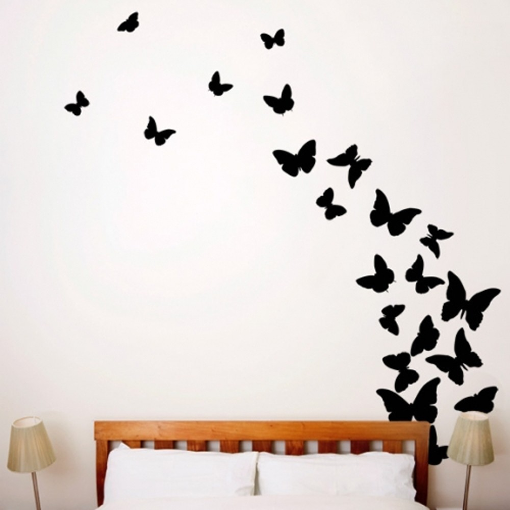 Väggis - Fjärilar, 22st