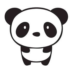 Väggis - Panda