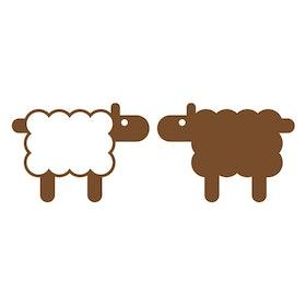 Väggis - Sheep, 2st